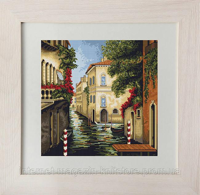 """Набор для вышивания крестом """"Венеция в цветах"""""""