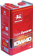Масло моторное WOLVER Super Dynamic 10w40 (канистра 4 л)