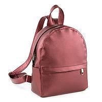 Рюкзак Fancy mini бордо натурель