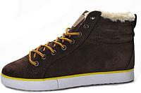 Мужские кроссовки Adidas Ransom Valley Brown с мехом