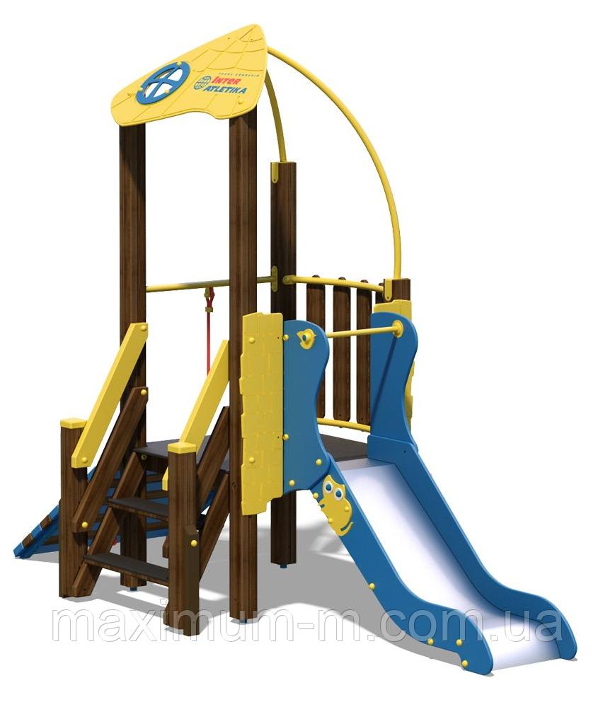 """Игровой комплекс для детей от 3 до 6 лет """"Чемпион NEW"""""""