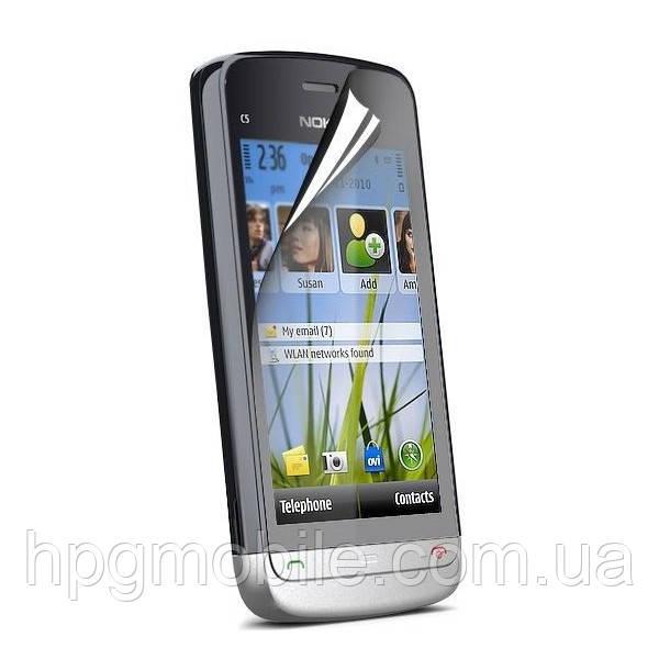 Защитная пленка для Nokia C5-03 - Celebrity Premium (matte), матовая