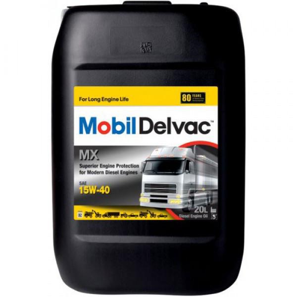 Минеральное моторное масло Mobil Delvac MX 15W-40 20 л