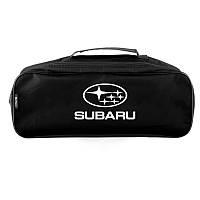Автомобильный органайзер Subaru Черная