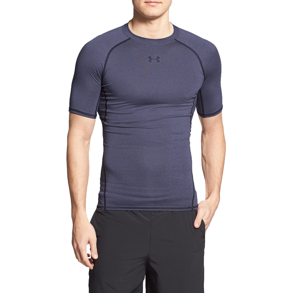 Футболка Under Armour HeatGear Compression Short Sleeve 2273M-2 М Синяя (2273M-2)
