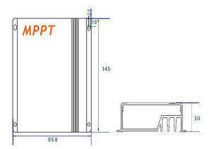 Контролер заряду Lumiax MPPT1575-DC, 15А, 12/24V, фото 2