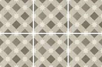 Плитка напольная Fioranese Ceramica Cementine Retro5 20х20