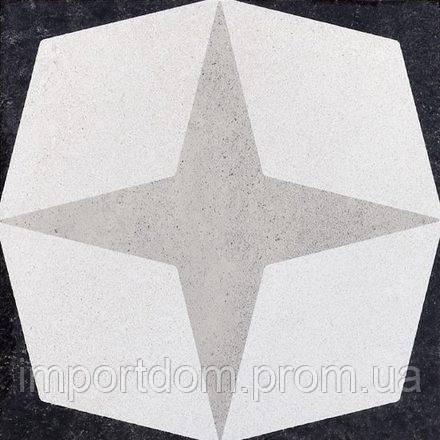 Плитка напольная Fioranese Ceramica Cementine B&W 20х20