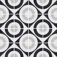 Плитка напольная Fioranese Ceramica Cementine Posa B&W5 20х20