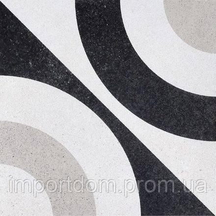 Плитка напольная Fioranese Ceramica Cementine B&W5 20х20