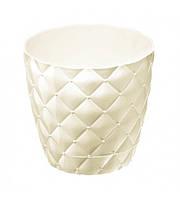Горшок для цветов на 1,6 л белый Elif plastik 436-1LF