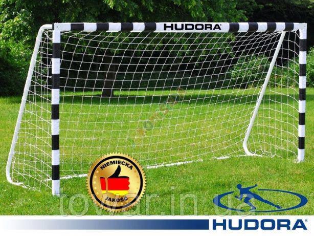 Ворота футбольные RomiSport 300x200x90cm +сетка Германия