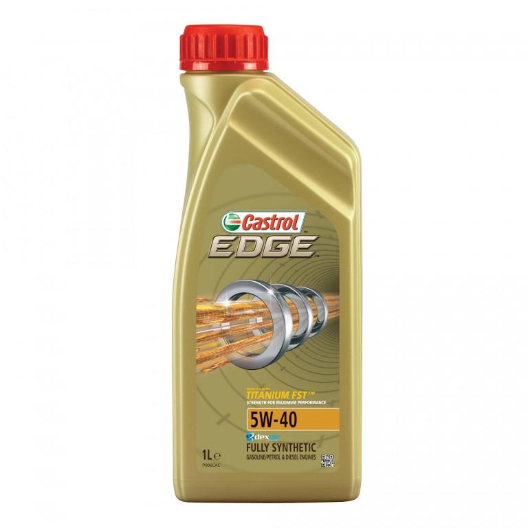 Синтетическое моторное масло EDGE 5W-40 Titanium 1 л.