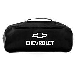 Сумка-органайзер для автомобиля в багажник Chevrolet Черная