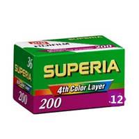 FUJIFILM Superia 200 12 Кадров, Фотопленка