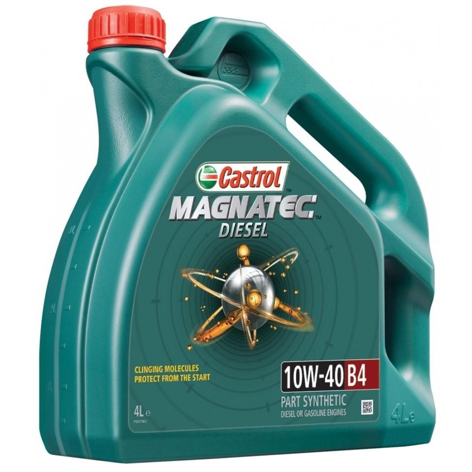 Полусинтетическое моторное масло Magnatec Diesel 10W-40 B4 New 4л.