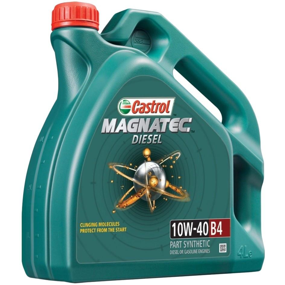 Полусинтетическое моторное масло Magnatec Diesel 10W-40 B4 New 5л.