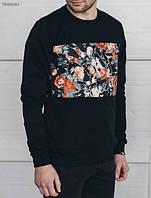 Кофта мужская с рисунком Staff print flowers