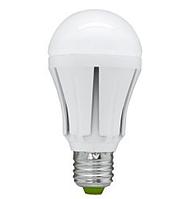 Лампа LED A60 12W 220V 6500K E27 матовая, фото 1