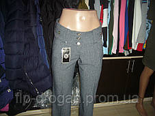 -50%! брюки женские турецкая ткань плотные новые украина 34-46 евро(40 42 44 46 48 50 52укр), фото 2