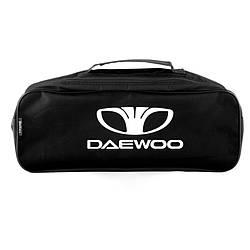 Сумка в багажник авто Daewoo Черная с 2 отделениями 520-132-186 мм (SU11)