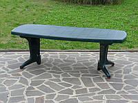 Стол пластиковый раскладной до 12 персон (2,2 м) Postiano, Bica (Италия) Зеленый