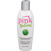 Pink Лубрикант на водной основе Pink Natural, 140 мл