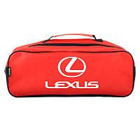 Сумка в багажник автомобиля Lexus Красная