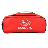 Автомобильный органайзер Subaru Красная