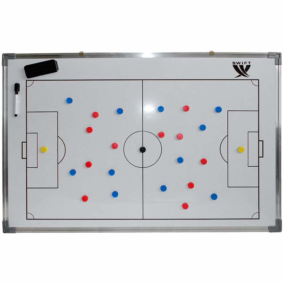 Доска тактическая SWIFT Football coach board 90 x 60 cm