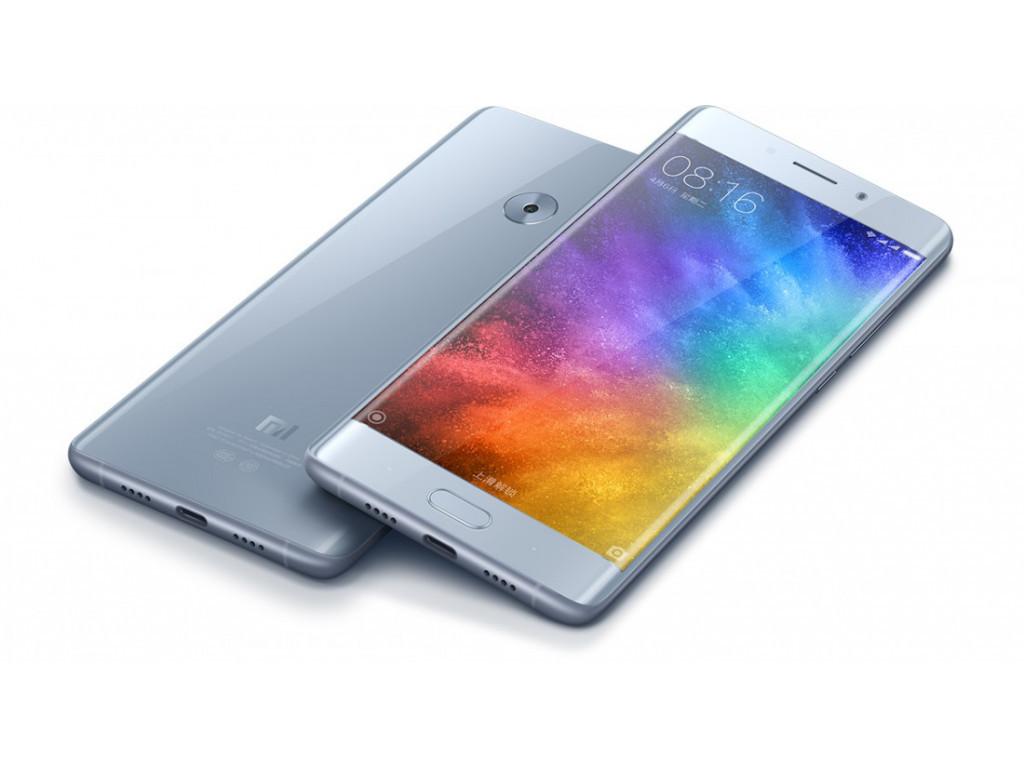 "Смартфон Xiaomi Mi Note 2 4/64GB Silver, 22,5/8Мп, 5,7"" IPS, 2 sim, 4G, 4070мАh, Snapdragon 821, 4 ядра"