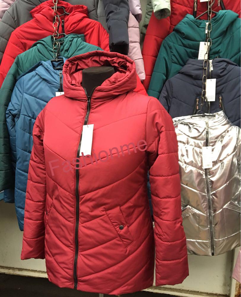 1fc775032812 Стильная женская куртка пальто демисезонная больших размеров