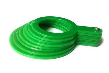 Пластиковый комплект для калибровки фруктов, 8 шт диметром от 55 до 90 мм