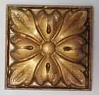 Гипсовый декор, орнамент, одноцветный, 6,2 х 6,2 см., фото 3