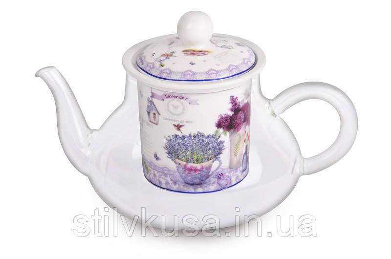 Чайник заварювальний Лаванда