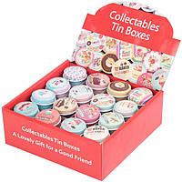 """Коробка жестяная """"For cakes"""" (16 видов в упаковке)"""