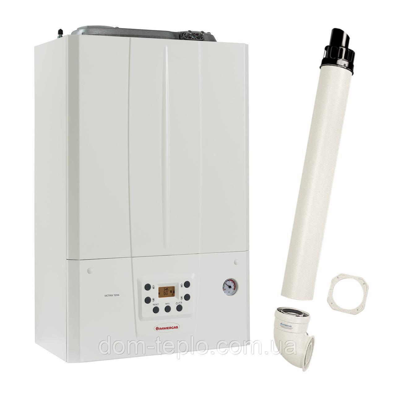 ❧ Котел конденсационный Immergas Victrix Tera 32 1 двухконтурный газовый