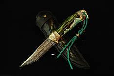 """Нож ручной работы """"Весенний зов"""", мозаичный дамасск (наличие уточняйте)"""