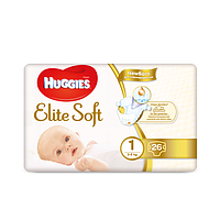 Huggies. Подгузники Huggies Elite Soft Newborn 1 (2-5 кг), 26 шт. (564876)
