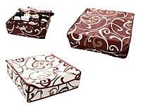 Коробочка на 24 секции c крышкой Молочный Шоколад \ Горячий Шоколад