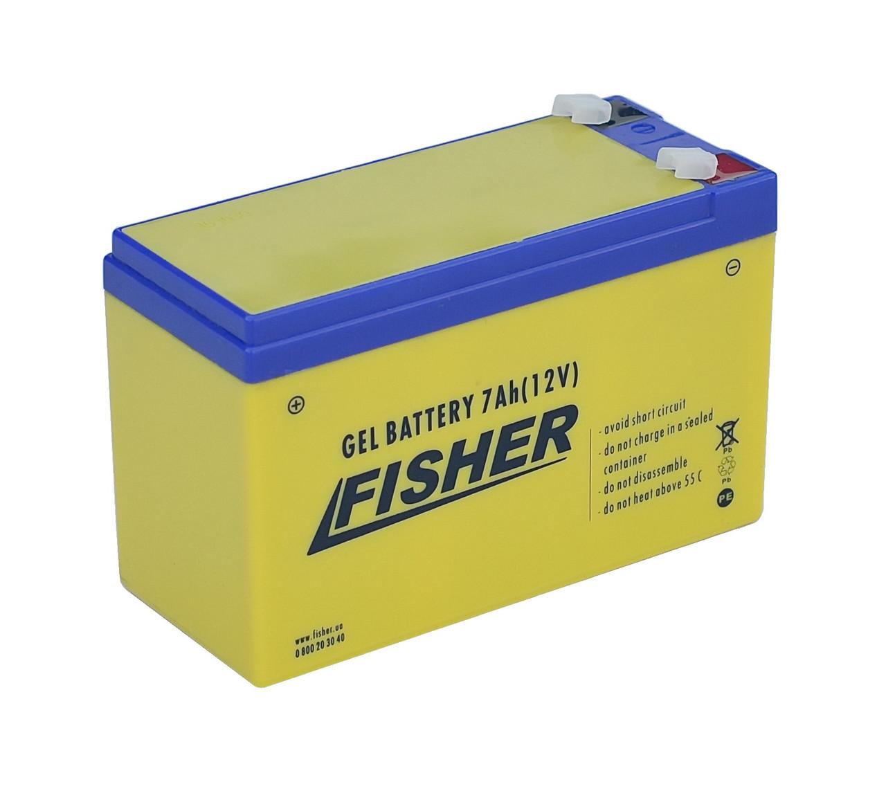 Аккумулятор AGM 7Ah Fisher 12B