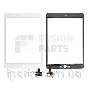 Тачскрин iPad mini 3 с микросхемой (White)