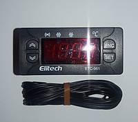 Контролер электронный блок (микропроцессор) для холодильного оборудования EТС  961 (однодатчиковый)  ELITECH