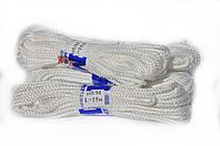 Веревка для белья на балкон 5 мм белая твердая, фото 1