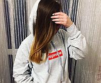 Худи женская принт Supreme | Толстовка стильная