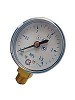 Манометр кислородный 0-2,5 MPA M12*1,5