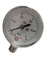 Манометр СО2 0-1 MPA M12*1,5