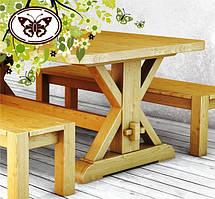Столы, стулья, лавки из дуба и бука