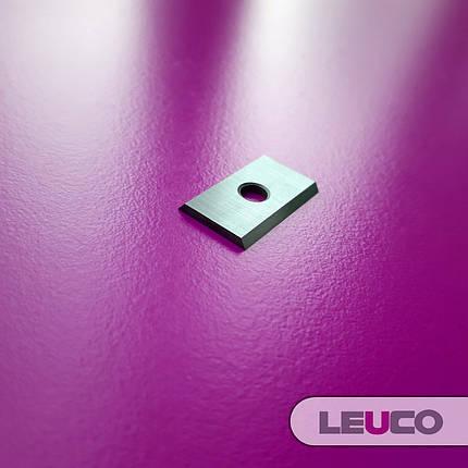 Сменные поворотные твердосплавные ножи (пластины) Leuco 20x12x1,5, фото 2