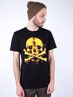 Мужская футболка Punch - Skull , Black